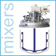 MIXERS - POWDERS / LIQUIDS / CREAM / PASTE /VACUUM 0ption